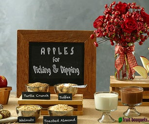 Fruit Bouquets' How to Make an Apple Dessert Bar