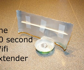 The 30 second WiFi extender