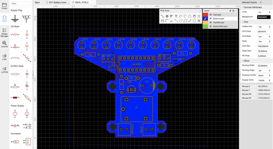 Designing the PCB (Printed Circuit Board)