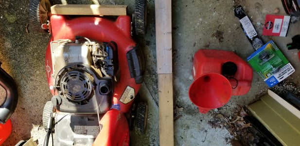 Tune Up, Remove the Fluids - Gas