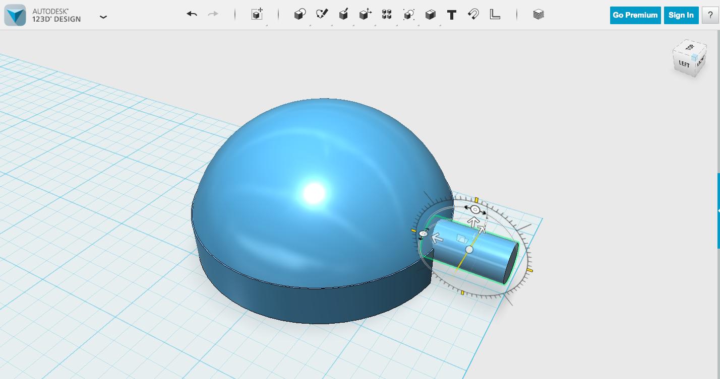 Picture of Alternate Version: Dome Diffuser