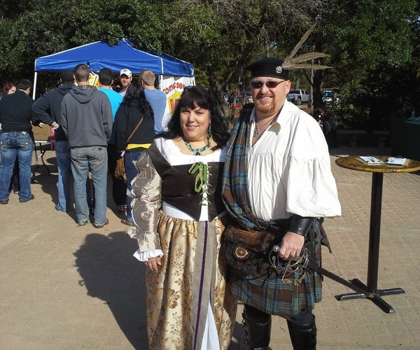 Renaissance Costumes - Celtic Warrior Costume