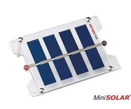 Making a Solar Panel without Soldering