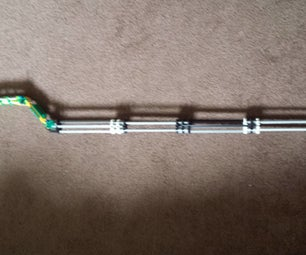 Cooper Cane (made Out of Knex)