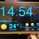 Multi Task Raspberry 1 B(Personal Cloud + Weather Station)