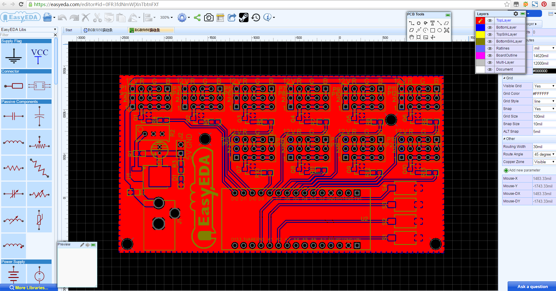 Picture of DESIGNING THE PCB BOARD: