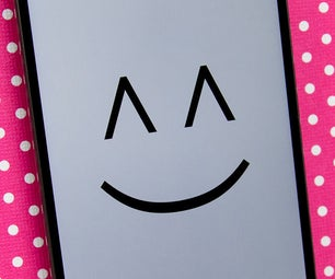 Happy Phone - DIY Smartphone Stand Papercraft Collection