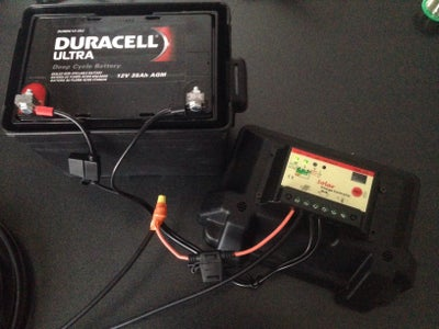 Charge Controller and Battery Box