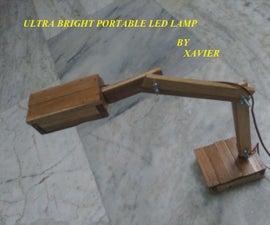 Ultra bright portable LED lamp