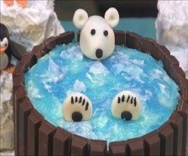 How to Make a Kit Kat Hot Tub Cake