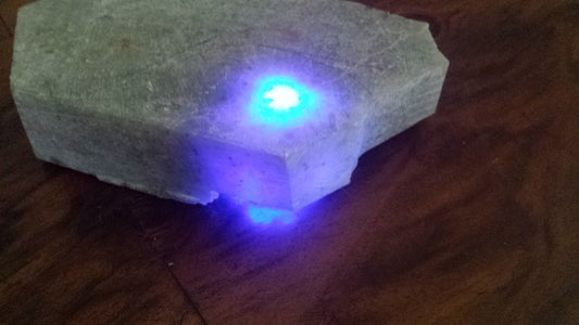 Pop in the LED, Assemble, Flip Over and Savor the Glow!