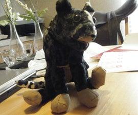 World of Warcraft stuffed animal from papercraft