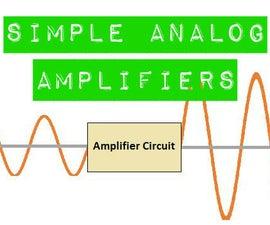 Simple Analog Amplifiers