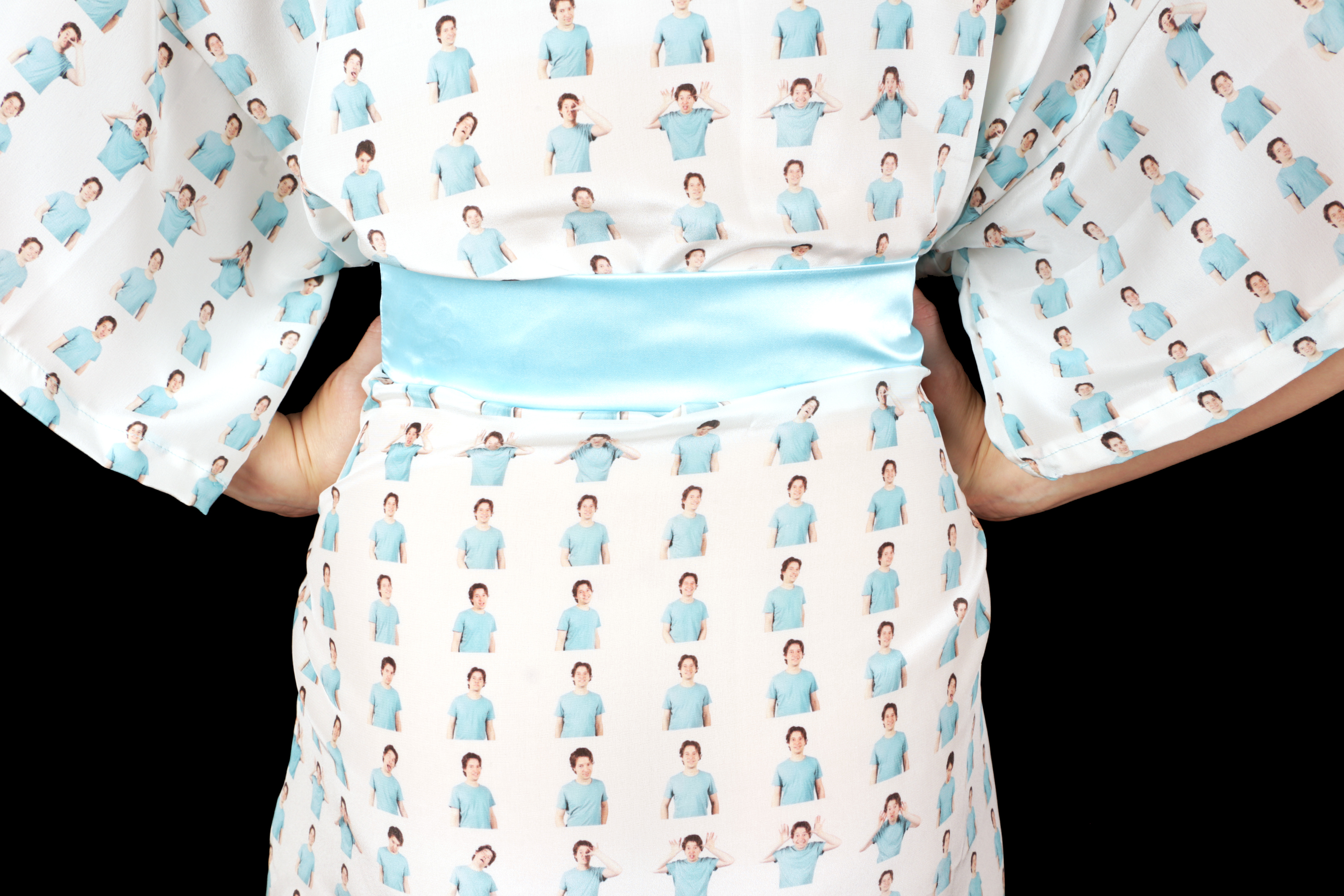 Picture of Custom Print Kimono