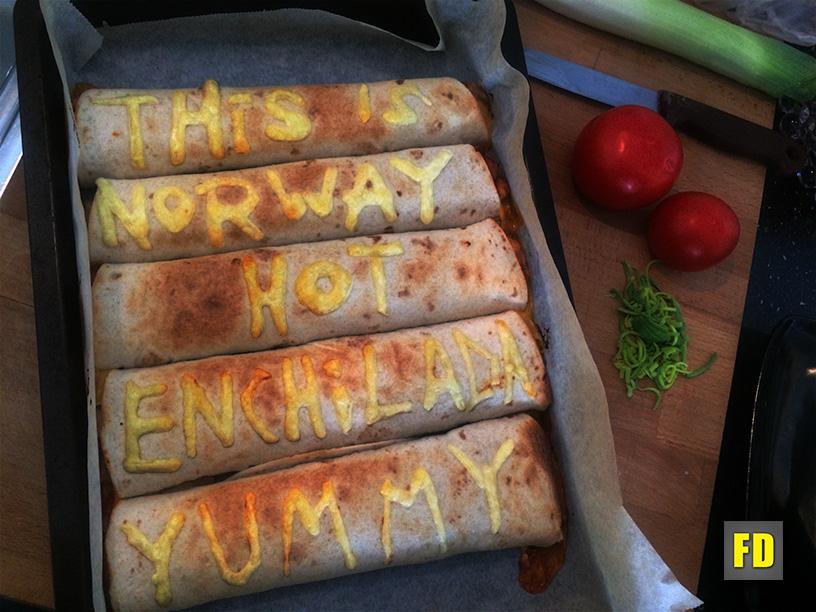 Picture of Norwegian Enchilada