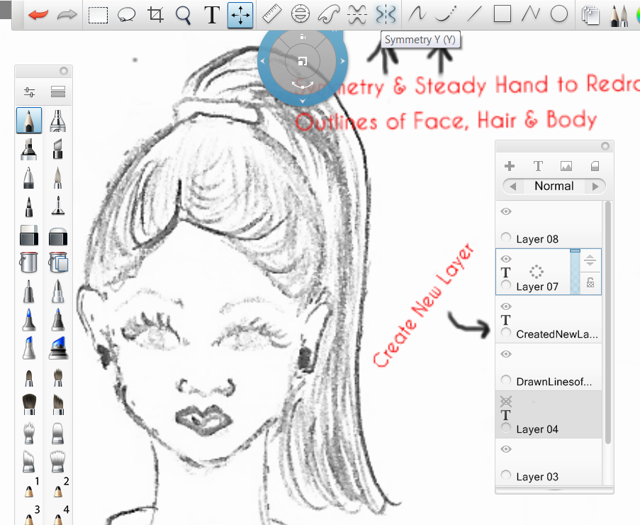 Picture of Autodesk Sketchbook Pro Tips - for Designing Clothes