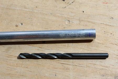 Drill the Holes in the Aluminium Tube