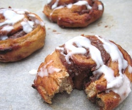 Awesome Guilt Free Cinnamon Rolls