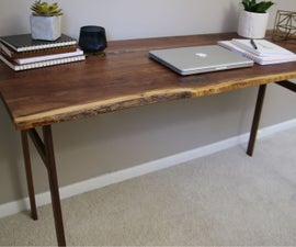 How to Make a Desk Out of Walnut
