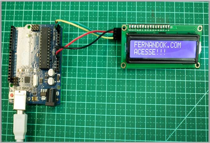 Picture of Arduino and ESP8266 With I2c LCD Display