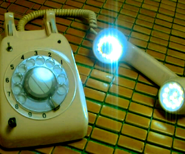 DIY-Hack A Retro Old Phone To LED Unit & Cellphone Audio Amplifier