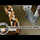 Vikings Themed Paracord Bracelet