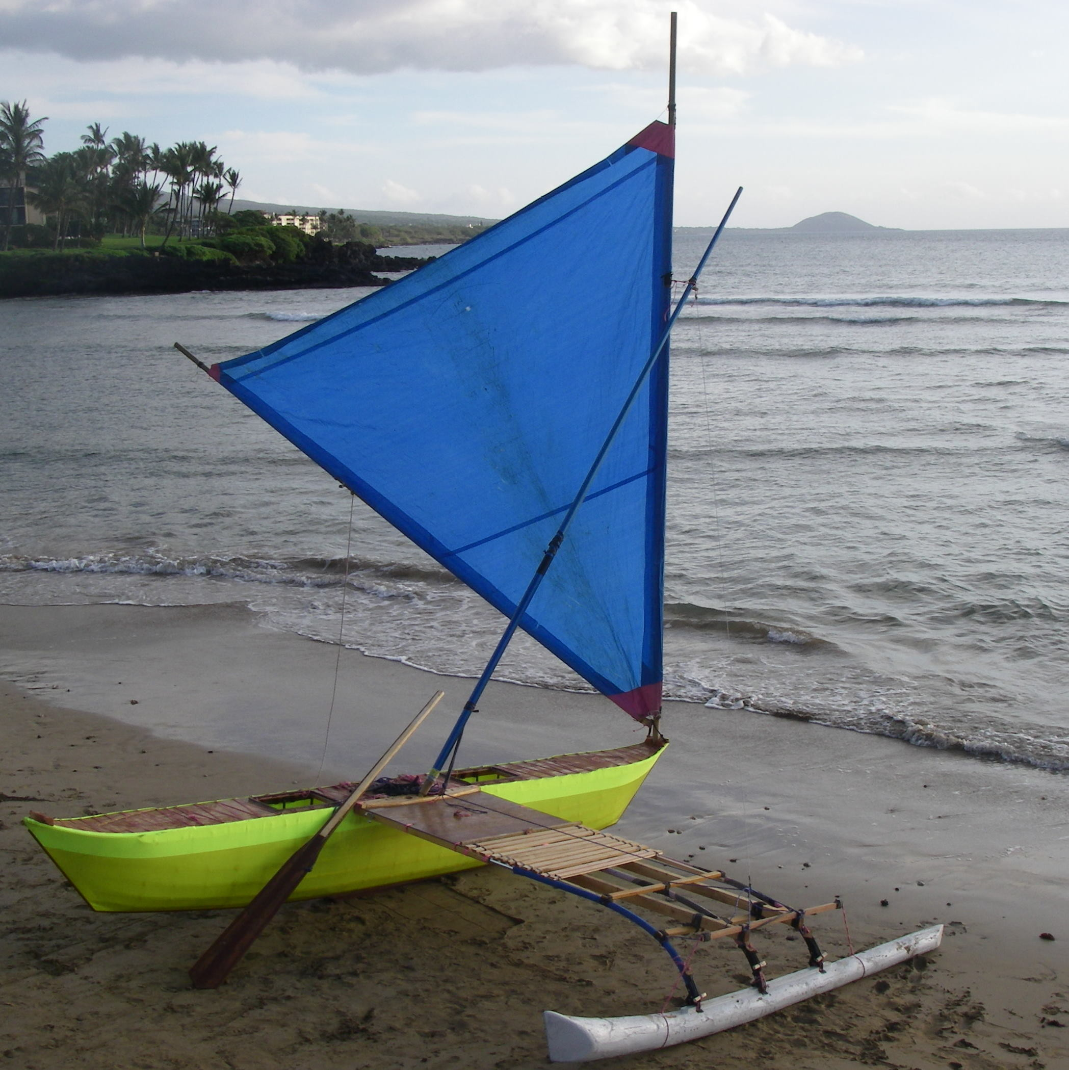 Picture of Sailing Canoe Chapter X: Maiden Voyage