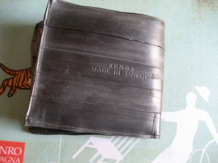 Bike Innertube Wallet