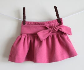 Knot-Me Tie Skirt Tutorial