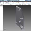 Creating a replacement part for a power tool where no part is available.