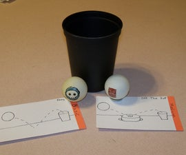 Kids Cup Pong Game