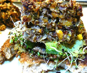 Spicy Tilapia Quinoa Burgers Crusted With Almond