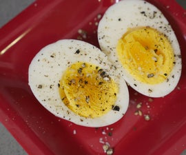 Hard Cook Eggs with Steam