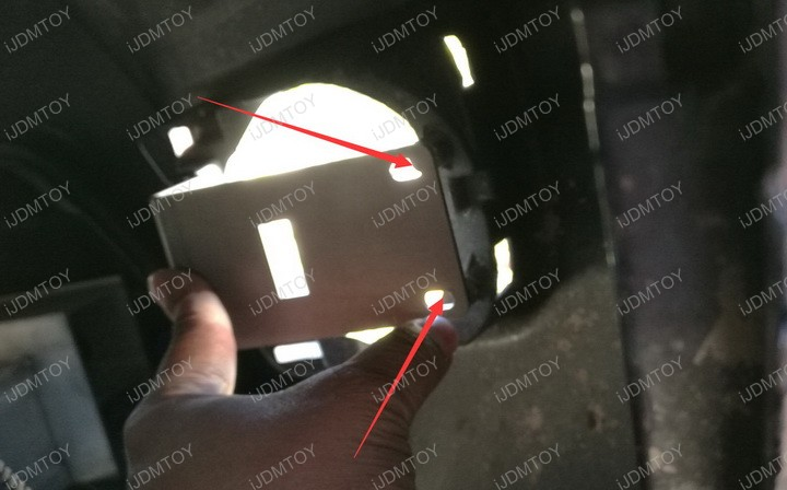 Picture of Secure the Metal Mounting Bracket to the Bezel.