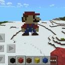 Mario Minecraft Pixel Art