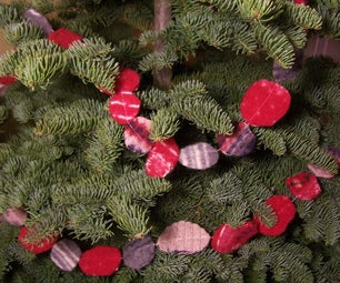 Felted Garland for Your Christmas Tree