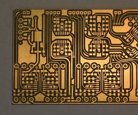 Easy PCB Etching