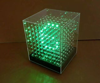 JolliCube - LED Cube Internet Clock