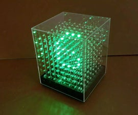 JolliCube - LED Cube Internet Clock