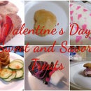 Valentine's Day Sweet and Savory Treats