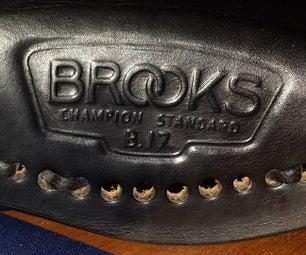 How to Lace a Brooks Saddle.