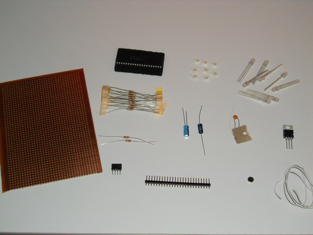 Picture of Get Your Required Parts and Tools.