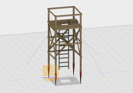 Wildlife Observation Tower