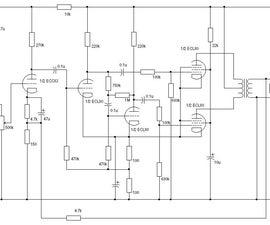ECL80 PUSH PULL VALVE AMPLFIER
