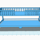 Multi-Use Convertible Loft Bed with 123Design (Couch, Desk, Table)