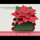 Poinsettia Christmas Box