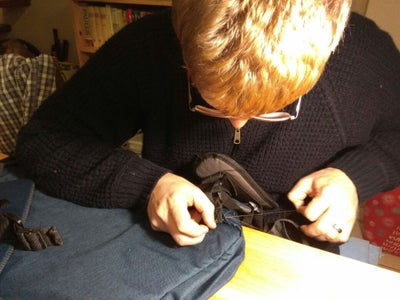 Sew on the Hip Straps