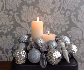 Etching Ornaments for a Luxe Centrepiece