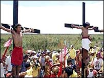 Picture of Official: Crucifixion is Unhealthy