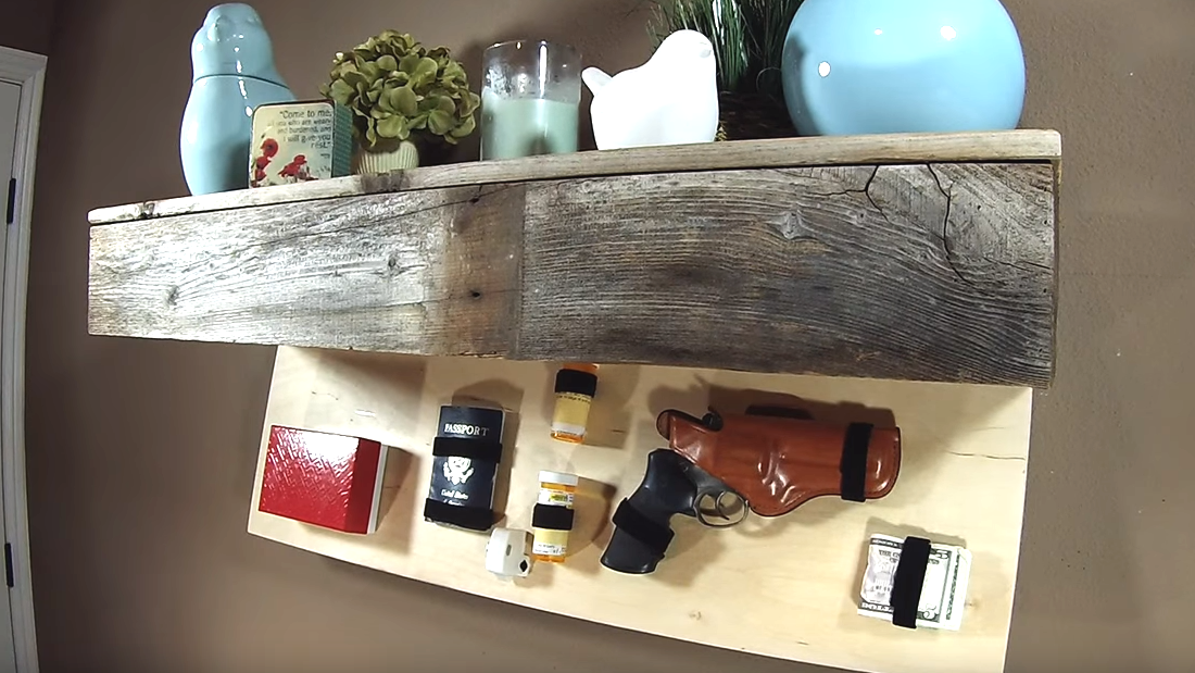 Picture of Secret Compartment Floating Shelf